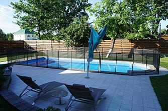 Детский защитный забор для бассейна