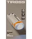 Фонарик светодиодный Tiross TS-1894 orange 1W 10 smd LED, аккумуляторный 900mAh, 90 lm, фото 5