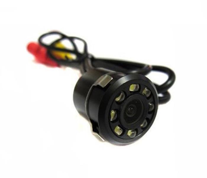 Универсальная камера заднего вида Noisy 1858 в бампер для авто с подсветкой