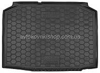 Резиновый коврик багажника Skoda Fabia I 1999- (хетчбек) Avto-Gumm