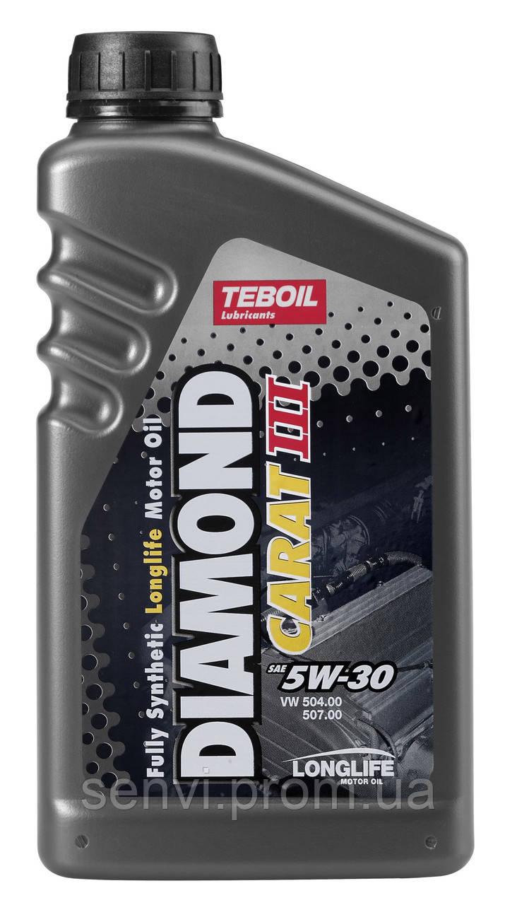 Моторное масло Teboil Diamond Carat III 5w-30 (1л.) для Volkswagen, Audi, Seat, koda и др.
