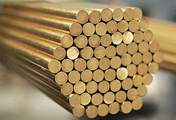 Круг бронзовий БрОЦС5-5-5 ф 30х3000 мм