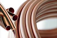 Медная труба М1, М2 мягкая Ф 15х1мм