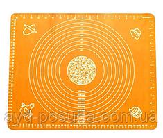 Силиконовый коврик для раскатки теста (50 х 70 см)  арт. 830-2А-1