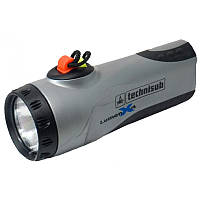 Фонарь для подводной охоты Technisub Lumen X4; серый