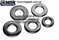 Шайбы плоские М10 нержавеющие din 125, гост 11371-78