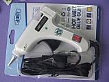 Термопистолет для клеевых стержней 7 мм, с кнопкой. Новинка - 125 грн, фото 3