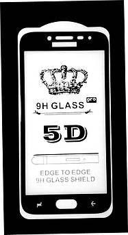 Защитное стекло 5D Samsung J2 2018 Black