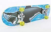 Скейтборд в сборе (роликовая доска) HB021, фото 1