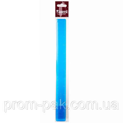 Линейка канцелярская  пластиковая  Axent 7530, фото 2