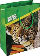 Пакет бумажный подарочный Kite Animal Planet