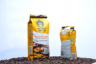 """Кофе в зернах 250г Светлая обжарка """"Gorilla's Coffee"""" (Specialty)"""