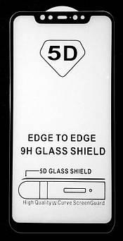 Защитное стекло 5D Xiaomi Mi 8/ 8Ex/ 8 Pro Black