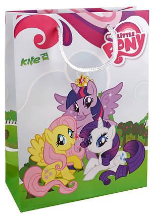 Пакет бумажный подарочный Kite Little Pony, фото 2