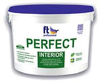 Глубокоматовая латексная краска для потолка и стен PERFECT INTERIOR 3 л