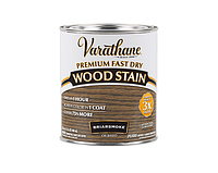 Морилка масляная VARATHANE FAST DRY для древесины коричнево-серая (Briarsmoke) 0,946 л
