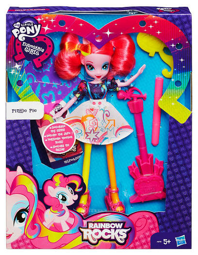 My Little Pony Equestria Girls Pinkie Pie ( Кукла Эквестрия Пинки Пай, серия Укрась Платье)