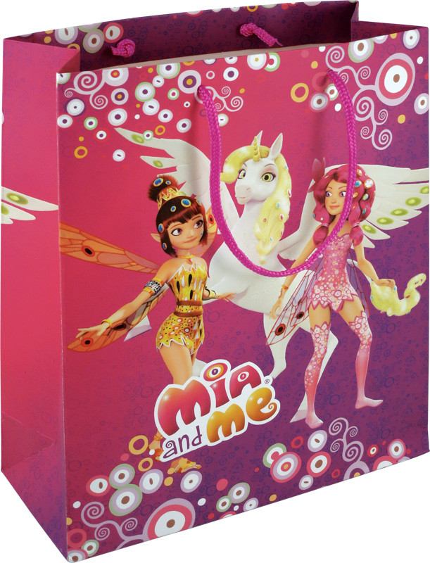 Пакет бумажный подарочный Kite Mia&Me