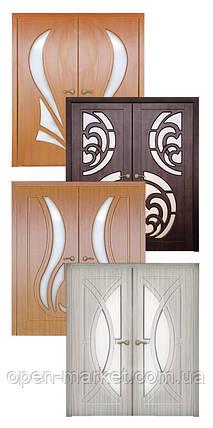 Двойные, полуторные межкомнатные двери, Николаев, фото 2