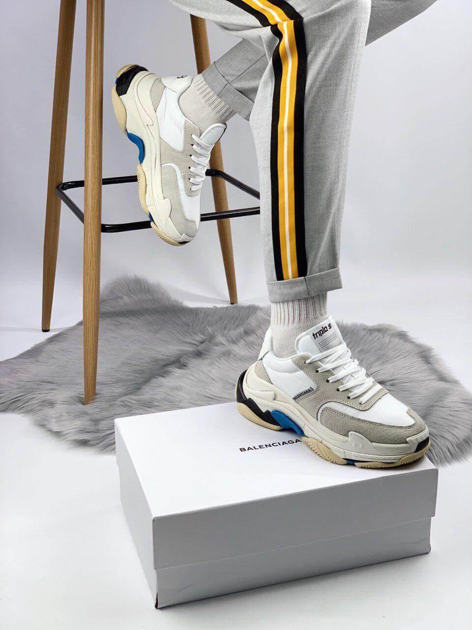 Кросівки Balenciaga Triple S 2.0 White