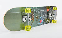Скейтборд в сборе (роликовая доска)HB074, фото 1
