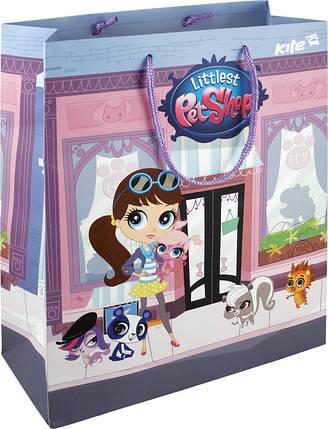 Пакет бумажный подарочный Kite Pets Shop, фото 2