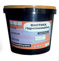 Битумная - резиновая мастика 10 кг