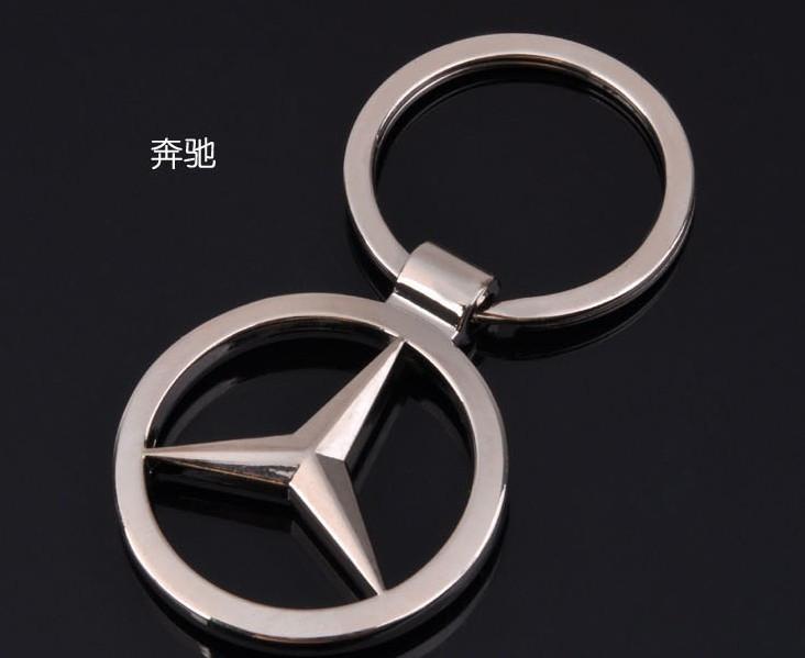 Брелок значок Mercedes