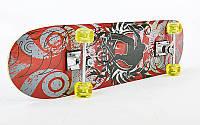 Скейтборд в зборі (роликова дошка)HB161, фото 1