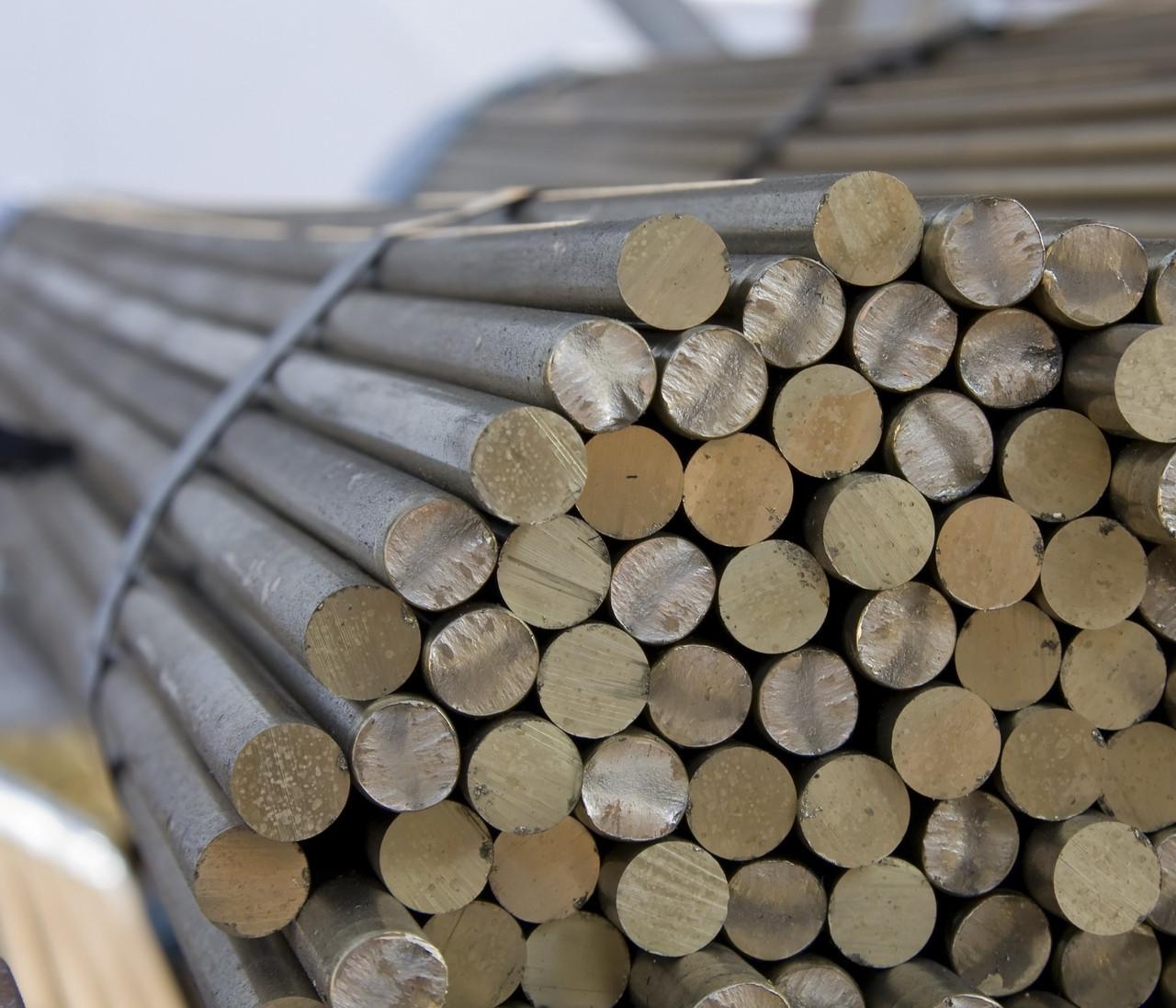 Круг бронзовый, пруток БРАЖ9-4 ф 70 мм