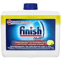 Двухфазное средство для очистки посудомоечной машины Finish lemon 250 мл