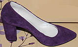Туфли женские на каблуке от производителя модель РИ35-4, фото 2
