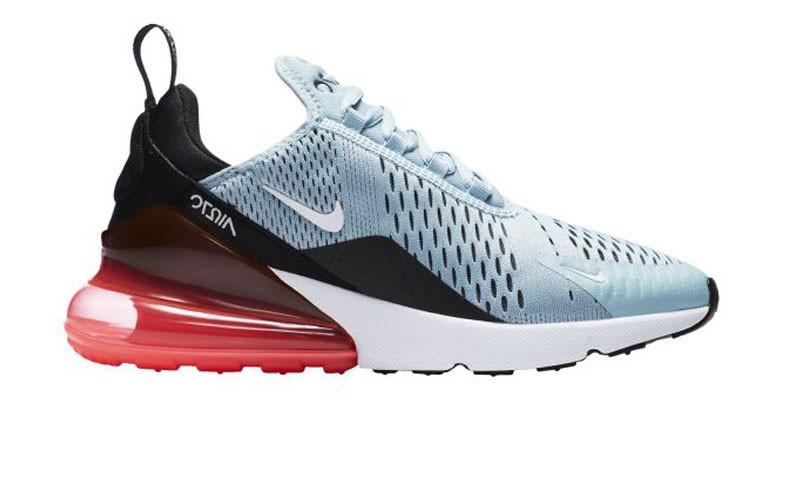 6df9e0d7 Кроссовки женские Nike Air Max 270 Blue/Black/Red (Реплика ААА класса)