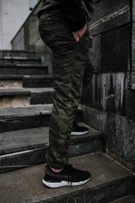 Мужские спортивные штаны камуфляж, фото 3