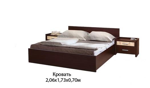Кровать С-1 160х200 (ТМ Скай)
