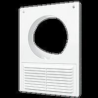 1825РУ Решетка вентиляционная вытяжная 184х254 с фланцем D125 мм, шт