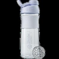 Спортивная бутылка-шейкер BlenderBottle SportMixer Twist 820ml White (ORIGINAL), фото 1