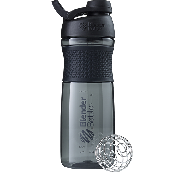 Спортивная бутылка-шейкер BlenderBottle SportMixer Twist 820ml Black (ORIGINAL)