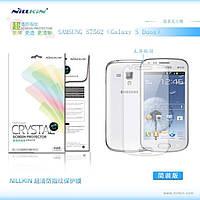 Защитная пленка Nillkin для Samsung S7562 Galaxy S Duos глянцевая