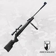 Пневматическая винтовка Artemis SR1250S NP NEW TACT с газовой пружиной + ПО 3-9x40