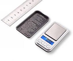 Мини-весы ювелирные 6202-PA (200 г), высокая точность, дискретность 0,01г, учет тары, ЖК-дисплей с подсветкой., фото 2