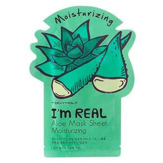 Тканевая маска для лица Tony Moly I`m real ALOE Mask Sheet