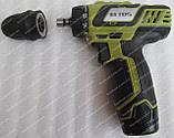 Шуруповерт аккумуляторный Eltos ДА-12DFR, фото 5