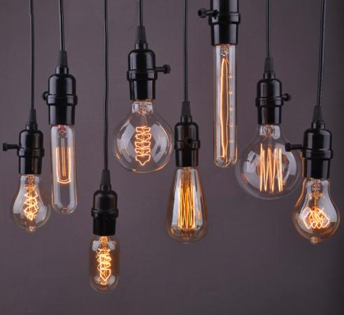 Дизайнерские лампы Эдисона