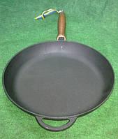 Сковорода чугунная  280х40 мм. Посуда чугунная.