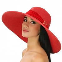 Элегантная шляпа  шарфиком регулируется  размер