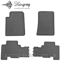 Гумові килимки SsangYong Action 2005-2011 (Санг Йонг Екшен) кількість 4 штуки