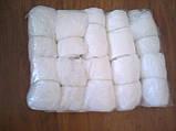 Белые бахилы купить 2 г/м2, фото 2