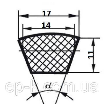 Ремень клиновой В (Б)-945, фото 2