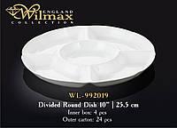 Менажниця кругла Товарwilmax WL-992019 25,5*6 см